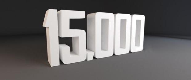 15000 visites